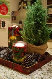 Table Decoration For Christmas Homemade by Apartments Simple And Natural Christmas Table Decoration Ideas