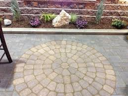 Interlocking Slate Patio Tiles by Dundee Concrete U0026 Landscaping Paver U0026 Flagstone Patios