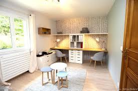 bureau dans une chambre bureau chambre d 039 amis mélissa desbriel côté maison