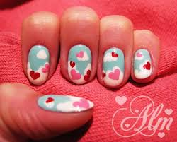 love is in the air valentine u0027s day nail art gallery step