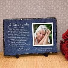 personalized in memory of gifts memorial plaque to remember mothers memorial plaque