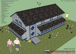 big chicken coops for your flock that free ranges most of the