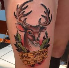 i have seen the whole of the internet hail santa apocalypse tattoo