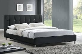 Modern Platform Bed Queen Beds Modern Black White Bonded Leather Bed Queen Platform Sofa