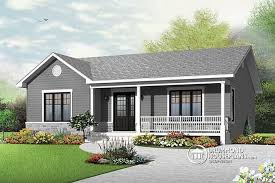 ranch style bungalow house plan w3136 detail from drummondhouseplans com