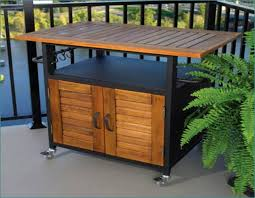 outdoor cooking prep table outdoor food prep table plans home design ideas