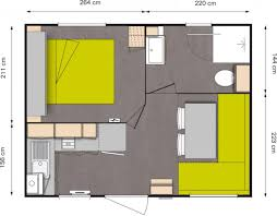 chambre mobile mobil home neuf ohara 504 1 chambre vente mobil home neuf