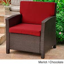 Outdoor Furniture Cushions Furniture Excellent Dark Wicker Chair Cushions For Elegant