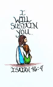 bible quote gifts talents scripture doodle magnet i will sustain you isaiah 46 4 jesus