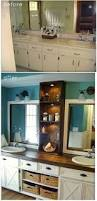 Painting A Bathroom Vanity Before And After by Best 20 Bathroom Vanity Makeover Ideas On Pinterest Paint