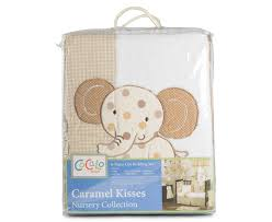 catch com au cocalo caramel kisses 6 piece cot bedding set