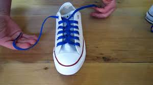 shoelace pattern for vans how to zipper lace chuck taylors youtube