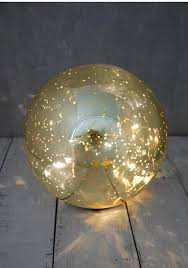 mercury glass ball lights brite star led lighted color changing mercury glass ball table top