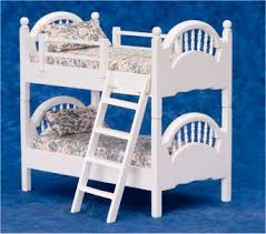 Doll House Bunk Beds Dollhouse Bunk Beds In 1 Scale From Fingertip Fantasies Dollhouse