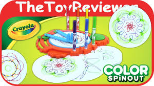crayola color spinout colorful designs u0026 patterns with markers
