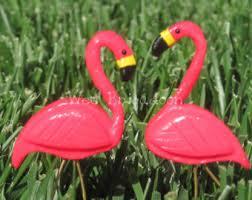 miniature flamingo etsy