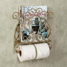 wall mounted bathroom magazine rack foter