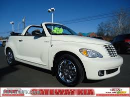 kia convertible 2006 chrysler pt cruiser touring convertible in cool vanilla white
