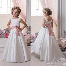 cheap 2017 new cheap flower dresses for weddings bateau a
