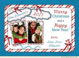 list christmas candy photo card naughty or nice