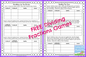 Multiplying Fractions By Whole Numbers Worksheets Teaching With A Mountain View Dividing Fractions Anchor Chart