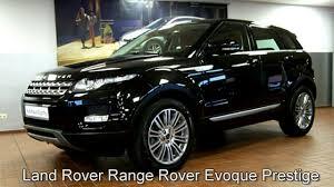 land rover metallic land rover range rover evoque prestige ch660969 schwarz metallic