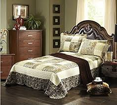 Faux Fur Comforter Queen African Safari Print Bedding U2013 Ease Bedding With Style