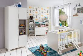 ensemble chambre bébé pas cher commode à langer joris chambre bebe blanc gris