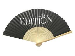 custom fans custom party japanese bamboo paper folding fan promotional party
