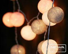 Hanging Christmas Lights In Bedroom by 20 White Rattan Ball String Lights Fairy Lights By Newalights