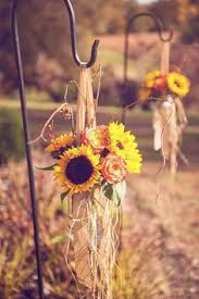 Sunflower Wedding Centerpieces by Cute Idea And Simple To Execute See If The Bride Would Like Some