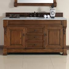 Oak Vanity Table With Drawers Darby Home Co Bedrock 60