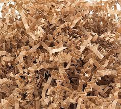 gift basket shredded paper brown gift basket shred crinkle paper grass filler