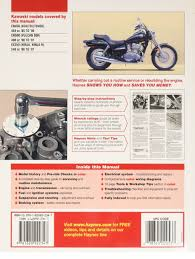 kawasaki en450 and 500 owners workshop manual haynes owners