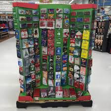gift card display how the gift card stole christmas but not on my