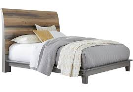 King Sleigh Bed Frame Moss Creek Gray 3 Pc King Sleigh Bed King Beds Colors