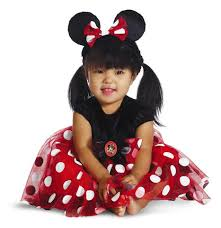 Minnie Mouse Halloween Costume Adults Disney Red White Polka Dot Minnie Mouse Halloween Costume