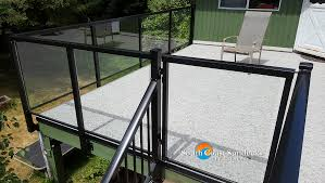 featured new glass sundeck cover glass privacy wall custom
