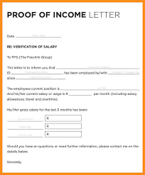 Income Verification Letter Sle Proof Of Employment Sample Proof Of Employment Pdf Sample Proof
