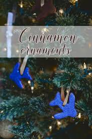 cinnamon ornaments with essential oils