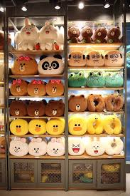 Line Store Line Store Opens Today In Bangkok Line Theme Park Set For
