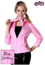 Authentic Grease Plus Size Pink Ladies Jacket Plus Size
