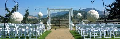 wedding arch kelowna course at kelowna weddings at gallagher s