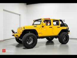 jeep rubicon yellow 2015 jeep wrangler unlimited sport for sale in tempe az stock