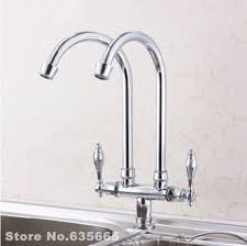 Online Get Cheap Double Sink Kitchen Plumbing Aliexpresscom - Kitchen double sink