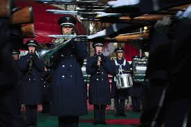 af honor guard band debut at historical macy s thanksgiving day