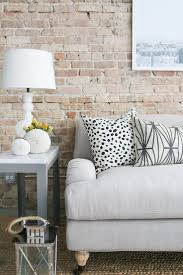 best 25 brick wallpaper living room ideas on pinterest