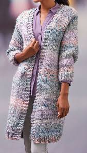 free knitting pattern for cozy long cardigan this long sleeved