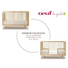 cribs that convert to toddler bed sparrow crib by oeuf yliving