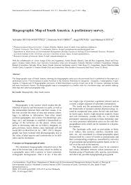 University Of Montana Map by Biogeographic Map Of South America A Preliminary Survey Pdf